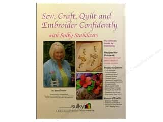 needlework book: Sulky Sew, Craft, Quilt, & Embroider Confidently Book by Joyce Drexler