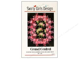 Gingham Girls Quilting Patterns: Swirly Girls Design Grand Central Pattern