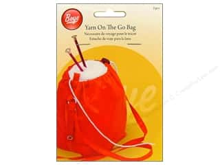 Snaps Yarn & Needlework: Boye Yarn On The Go Bag 2 pc.