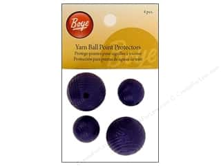 Boye Knitting needle: Boye Point Protector Yarn Ball 4pc