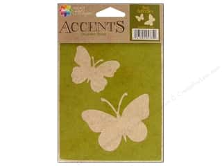 Delta Stencil Magic Accents 4 1/4 x 6 in. Two Butterflies