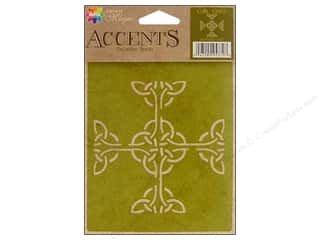 Craft Guns $4 - $6: Delta Stencil Magic Accents 4 1/4 x 6 in. Celtic Cross