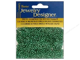 Darice Bead JD Seed 11/0 Metallic Teal