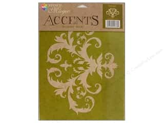 Tools $8 - $12: Delta Stencil Magic Accents 8 1/2 x 11 in. Baroque