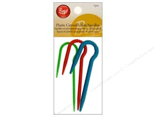 Boye Yarn Accessories Cable Stitch Needle Plastic Curved 3pc
