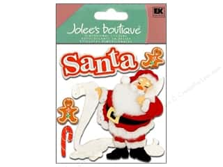 Jolee's Boutique Stickers Classic Santa