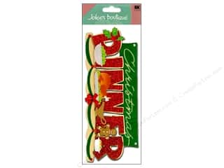 Jolee&#39;s Boutique Title Stickers Christmas Dinner