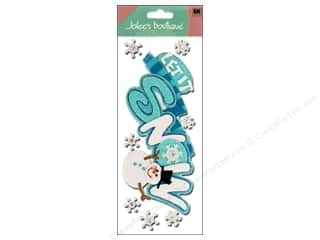 Jolee&#39;s Boutique Title Stickers Let It Snow