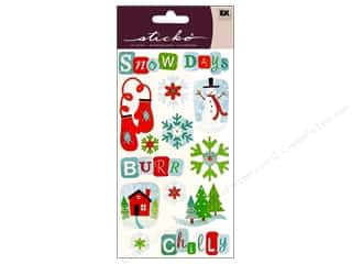 EK Success Mother's Day Gift Ideas: EK Sticko Stickers Snow Days