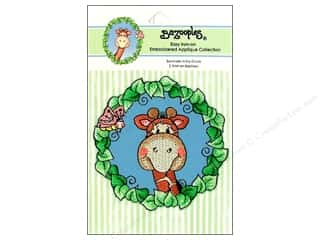 Bazooples Iron On Applique Gertrude Ivy Circle