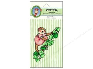 Bazooples Brown: Bazooples Iron-On Appliques Molly In Pajamas