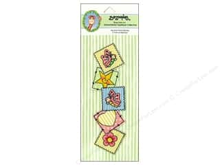 Bazooples Iron On Applique Border Patch Vertical