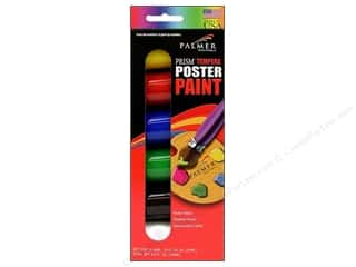 Scouting /Girl Scouts / Boy Scouts Black: Palmer Prism Tempera Paint Set 3/4oz 6pc