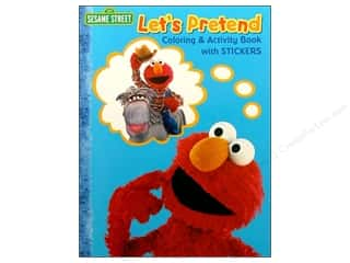 Books Clearance $0-$5: Coloring &amp; Activity Sticker Sesame Street Book
