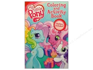 Coloring &amp; Activity Sticker My Little Pony Book (3 pieces)