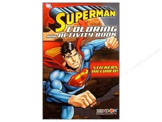 Brothers Bendon Books: Bendon Coloring & Activity Book with Stickers Superman (3 pieces)