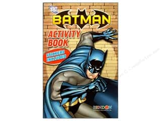 Brothers Bendon Books: Bendon Activity Book with Stickers Batman (3 pieces)