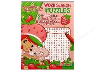 Books $0-$3 Clearance: Word Search Puzzle Book Strawberry Shortcake