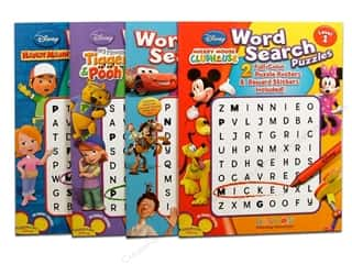 Activity Books / Puzzle Books: Word Search Puzzle Book Disney Assorted Level 1