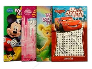 Disney: Puzzle Word Search Disney Astd Book (3 pieces)