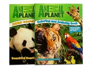 Jumbo Coloring & Activity Animal Planet Astd Book