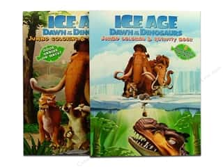 Jumbo Coloring & Activity Ice Age Astd Book