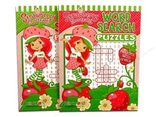 Jumbo Word Search Puzzle Book Strawberry Shortcake Assorted