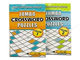 Puzzle Jumbo Crossword Vol 1 &amp; 2 Astd Book (2 pieces)