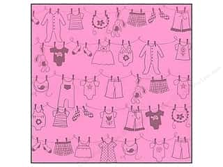 Glazed Bazzill Cardstock: Bazzill Cdstk 12x12 15pc Glz Clothes Chablis UPC