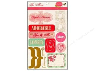 sticker: DieCuts Sticker Be Mine Words Icon