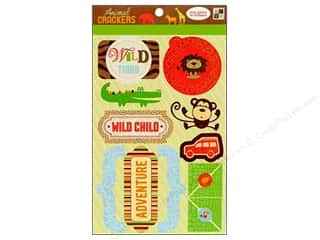 sticker: DieCuts Sticker Animal Cracker Words Icon