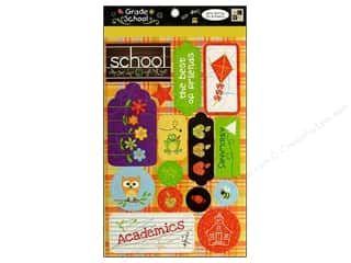 Back to School: DieCuts Sticker Grade School Words Icon