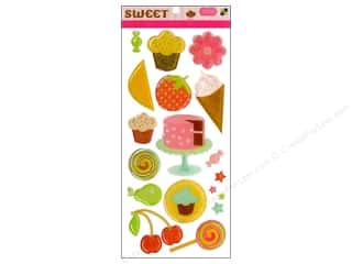 sticker: DieCuts Sticker Epoxy Shapes Sweets