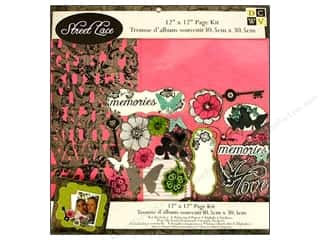 DieCuts Page Kits 12x12 Street Lace
