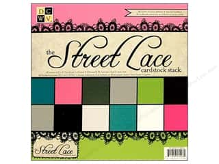DieCuts Cardstock Stack 8 x 8 in. Street Lace