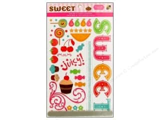 DieCuts Rub On Glitter Sweets