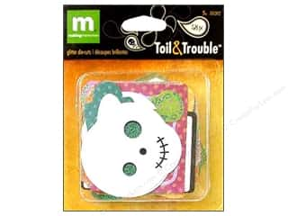 Making Memories Scrapbooking & Paper Crafts: Making Memories Die Cut Glitter Toil & Trouble