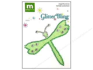 Making Memories Stickers Glitter Bling Dragonfly