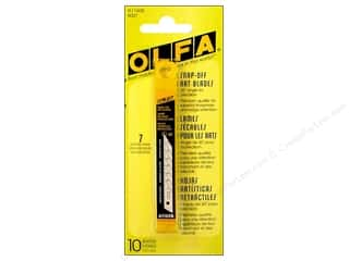 "Scissors 10"": Olfa Knife Snap-Off Art Blade For Utility A 9mm 10pc"