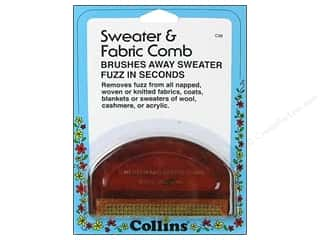 Fabric Clamps Miscellaneous Sewing Supplies: D-Fuzz-It Sweater Comb by Collins 1 pc.