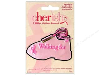 Non-Profits Black: Simplicity Cherish Applique Medium Walking For Shoe
