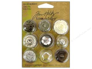 button: Tim Holtz Idea-ology Accoutrements Fanciful