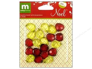 Making Memories $2 - $3: Making Memories Embellishments Chandelier Beads Noel