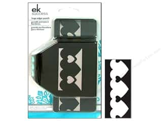 EK Paper Shapers Large Edger Punch Heart In Heart Chain