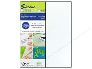 Quilting Pressing Aids: C&T Publishing Silicone Release Paper 12 pc.