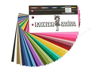 Bazzill Swatch Book Dotted Swiss