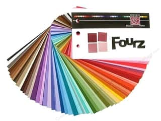 Bazzill: Bazzill Swatch Book Fourz