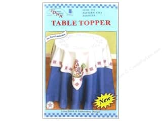 Jack Dempsey Table Topper White 35&quot; Rooster