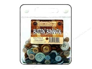 Buttons Galore Button Bonanza 8oz Neutrals