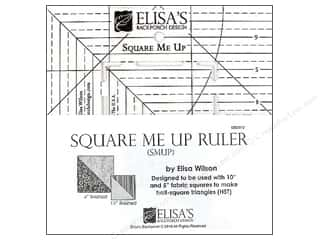 Elisa's Backporch Design Quilting Templates / Sewing Templates: Elisa's Backporch Ruler Square Me Up